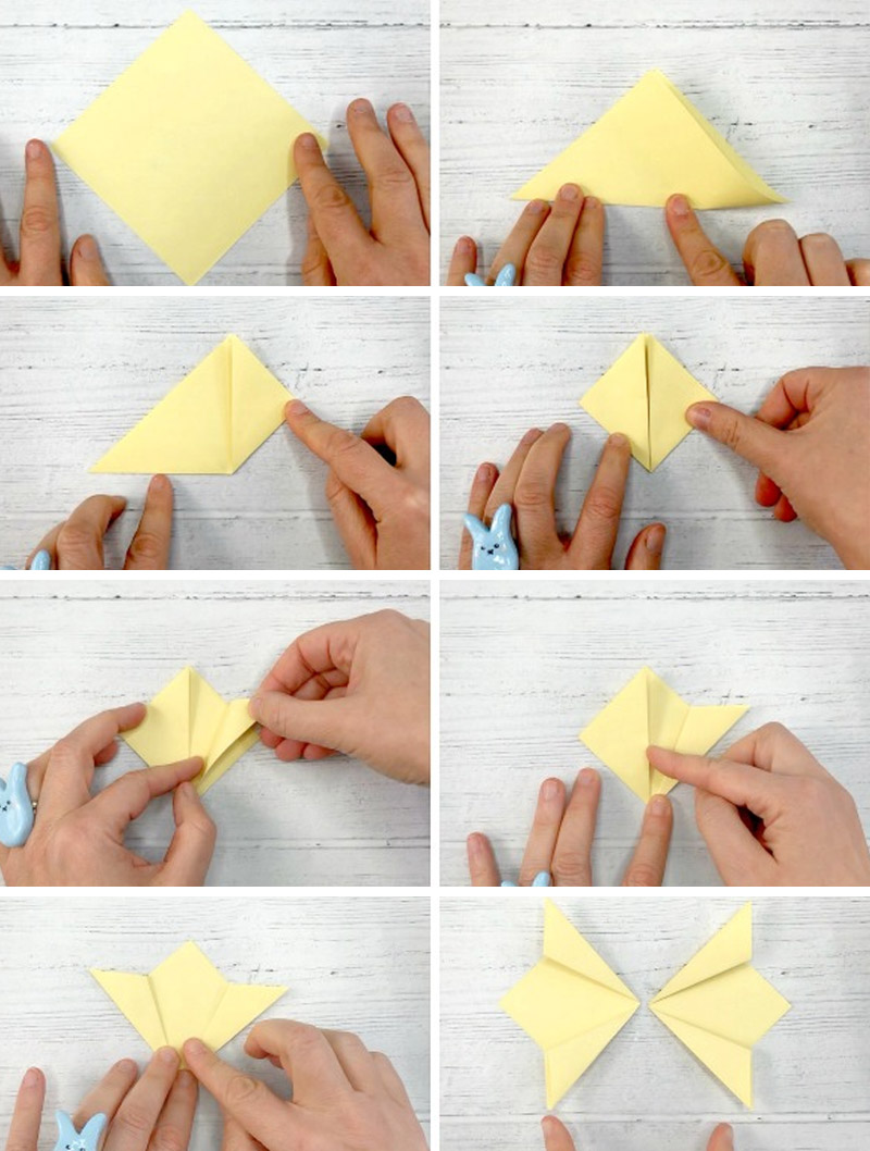 Бабочка на стену из бумаги своими руками