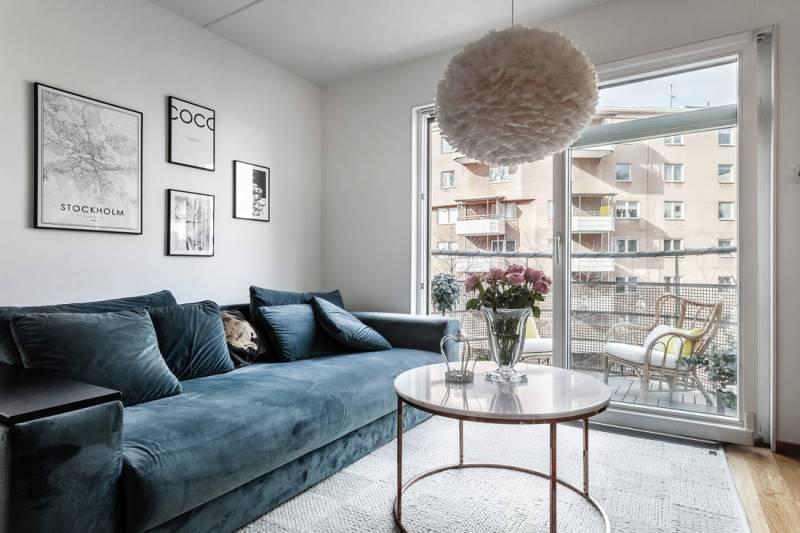 Перепланировка квартиры 45 метров - вариант 4