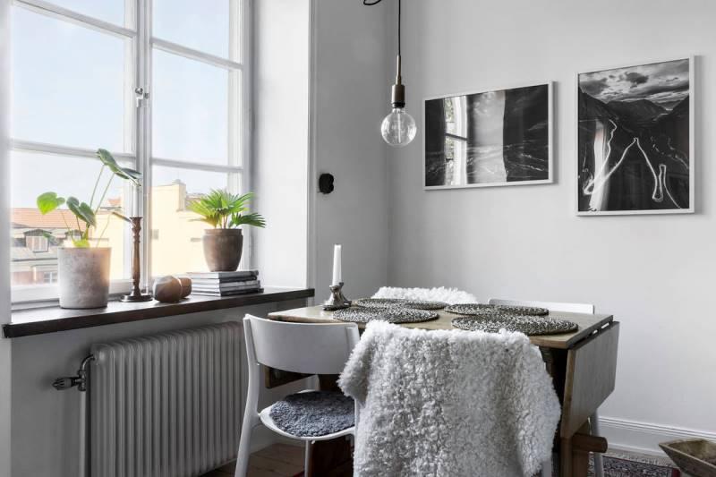 Планировка квартиры 45 метров - вариант 6