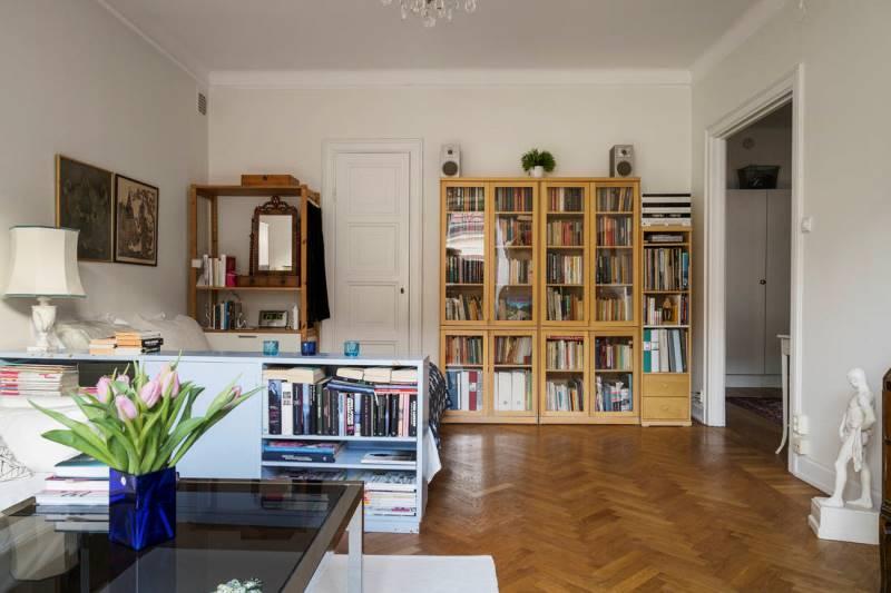 Планировка квартиры 46 метров - 7 проект