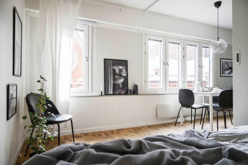 Планировка 46-метровой квартиры - вариант 8
