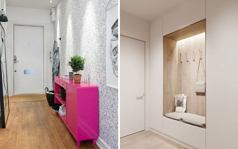 Красивый и модный дизайн коридора: фото готовых интерьеров
