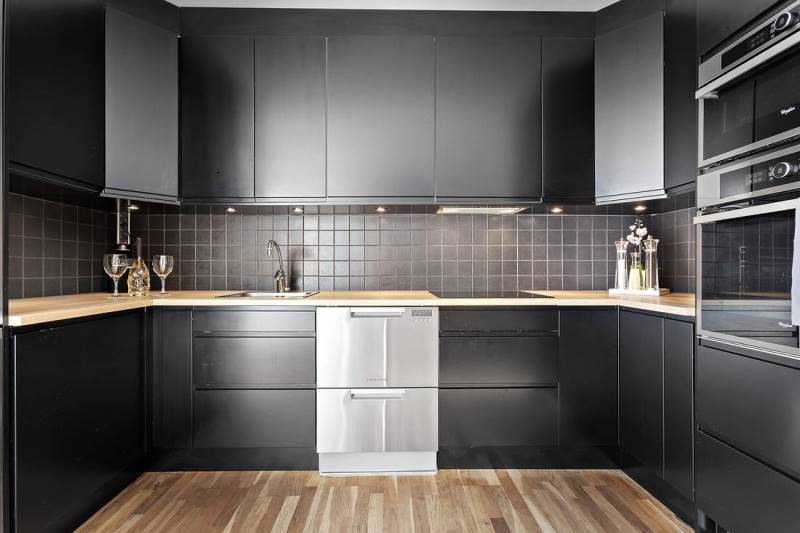 Кухня без окон