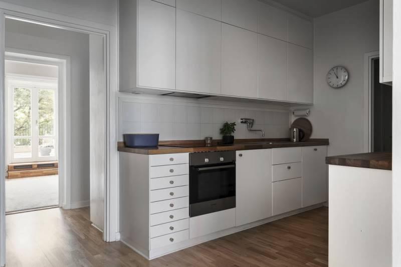 Кухня без окон: как оформить и обставить