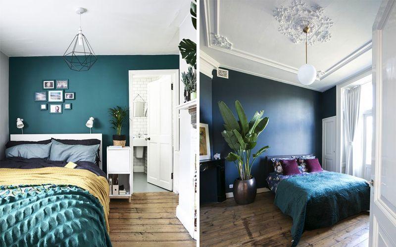 Дизайн стены за кроватью