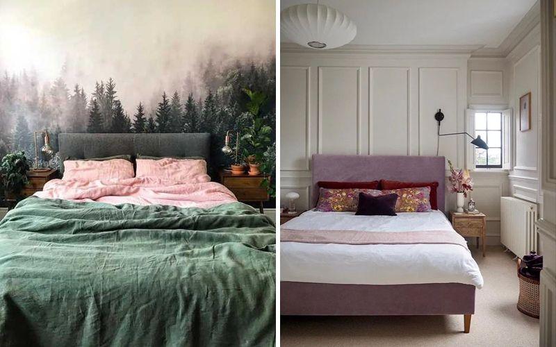 стена за кроватью дизайн