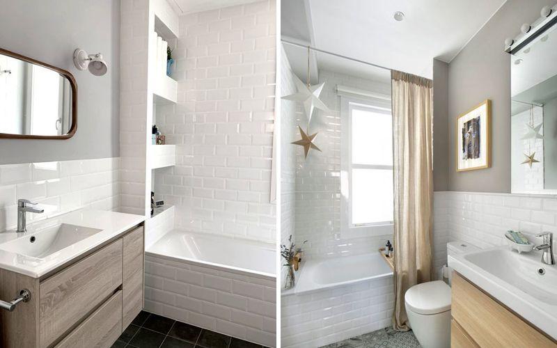 Плитка с краской в ванной комнате: фото